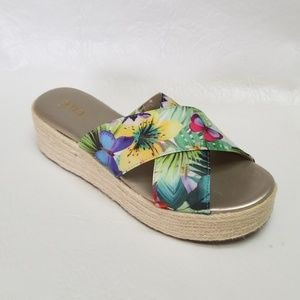 NEW ana ERIN espadrillle wedge sandals 8.5
